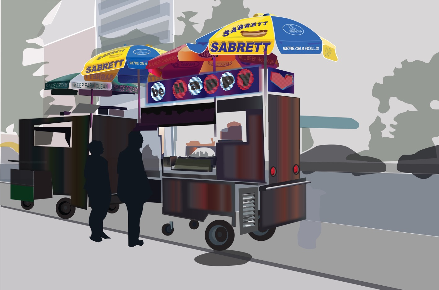 Food Cart Recreation