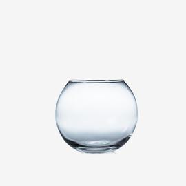 Tazón de pescado de cristal