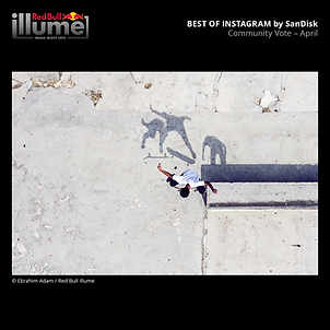 RedBull Illume Image Quest 2019; Best of Instagram by Sandisk. Community Vote - April.