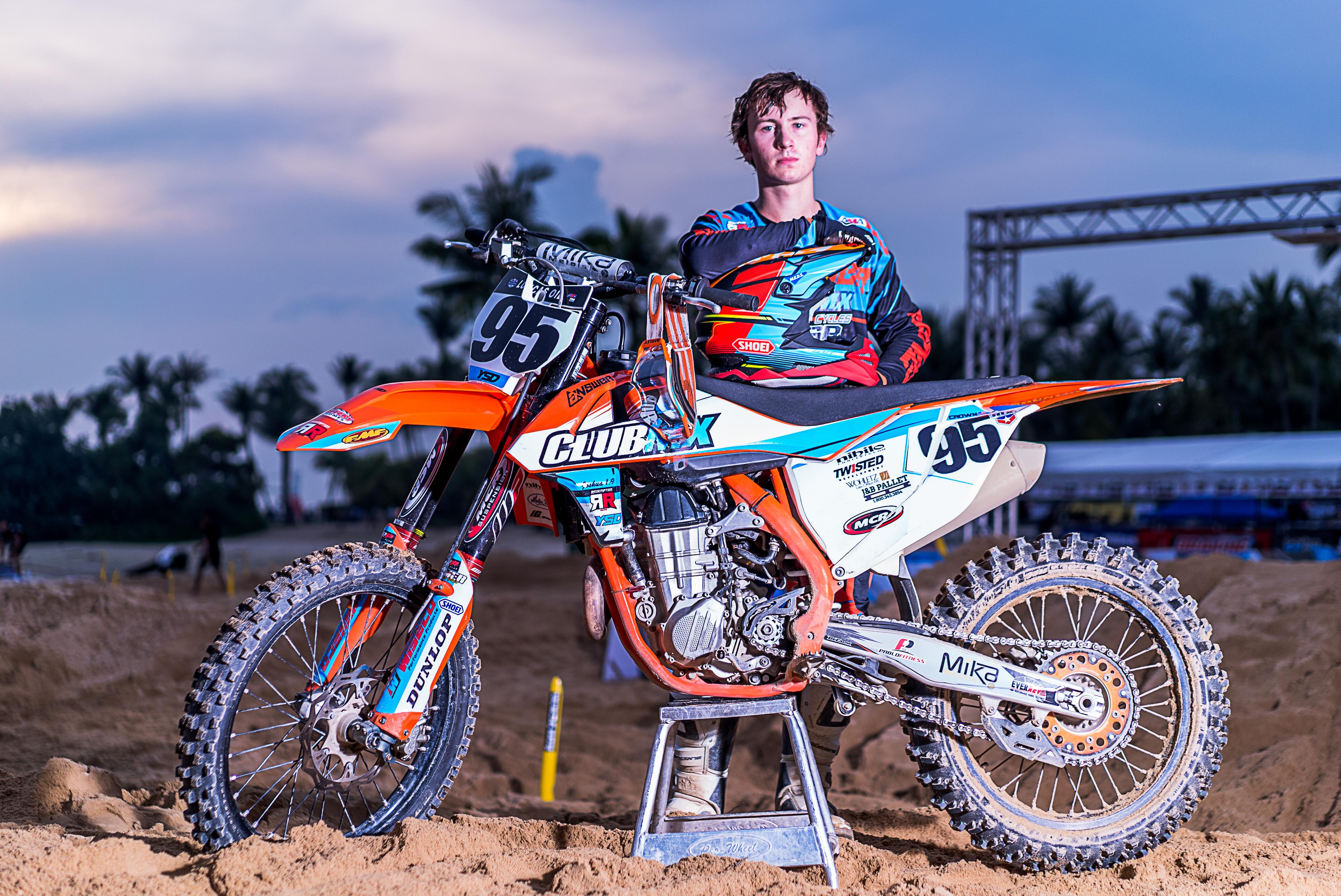 Joey Crown - motocross