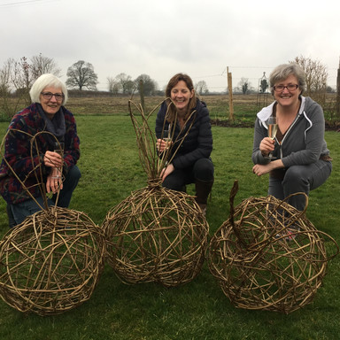 willow weaving with fizz and friends