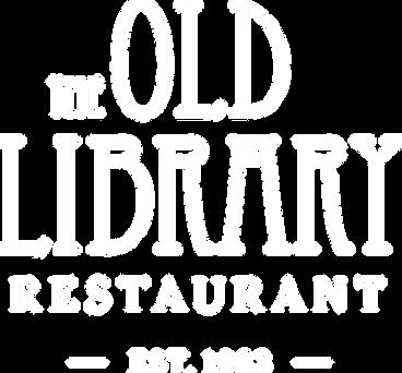 Old Library 1983 Logo White RGB 255-255-