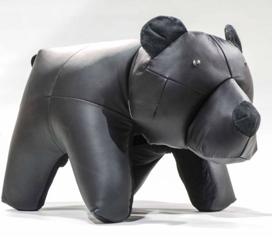 Brown Bear Ottoman
