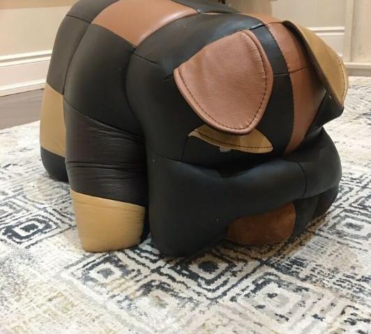 Bulldog - Multi Leather Ottoman