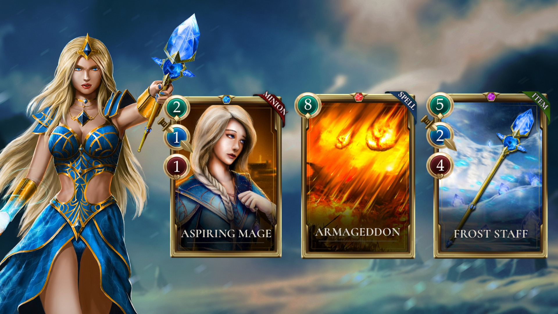 Aveena & Mage Cards - 2.5 MB