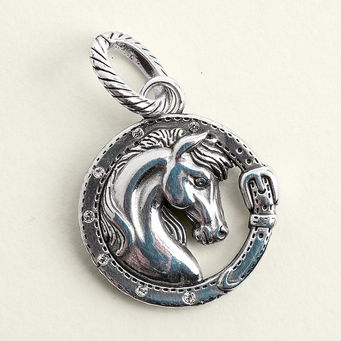 Horse Head Pendant for necklace