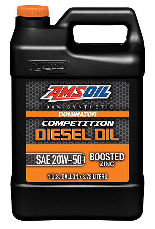 AMSOIL DOMINATOR 20W-50 Competition Diesel Oil -GALLON
