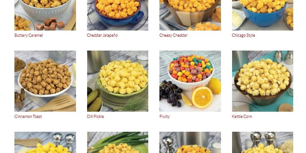 Poppin Popcorn Virtual Sale Fund Raiser (Seller's ID:  294709)