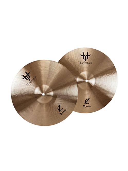 """HH 13"""" T-Cymbals Classic Médium"""