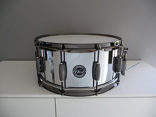 "14""x 6.5"" Steel Chrome"