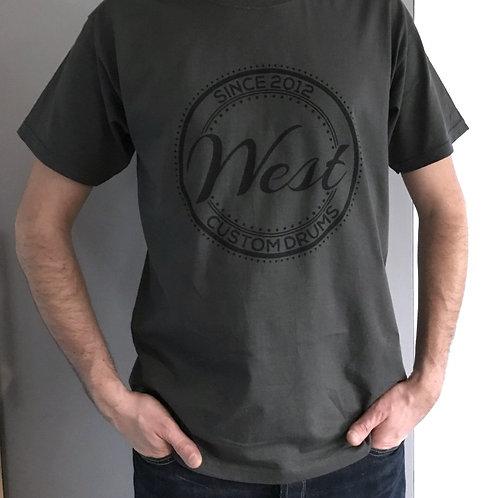 T-Shirt gris West 1