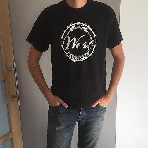 T-Shirt noir West 1