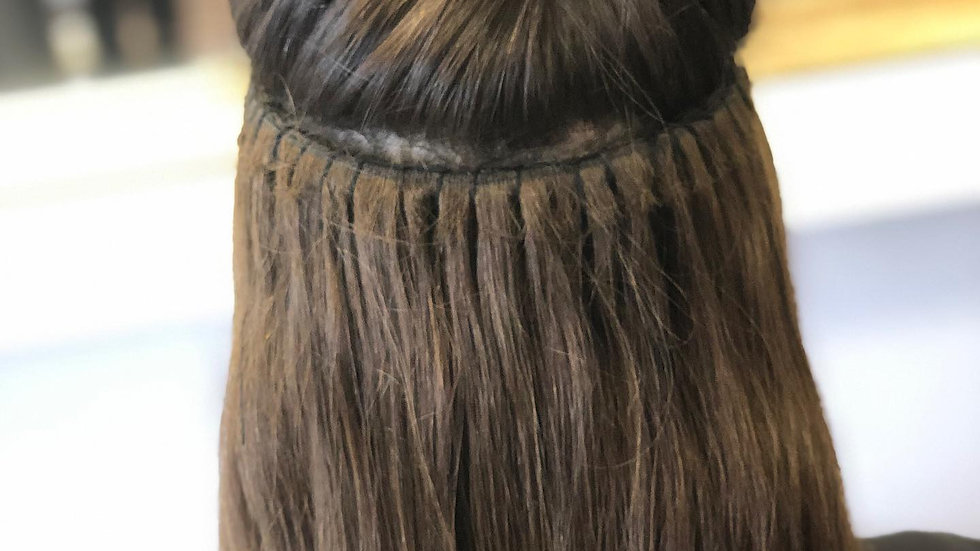 Online Accredited Weft Hair Extension Course