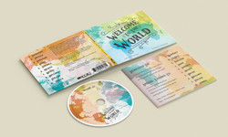Welcome To The World Album Design