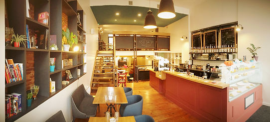 intérieur sweet home cafe