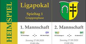 LIGAPOKAL - Derby zum Start