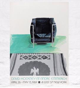 David Hockney Poster