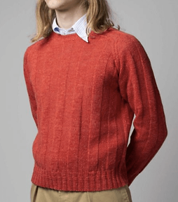 Drakes Red Jumper