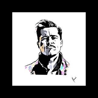 Arte Digital Brad Pitt