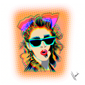 Madonna Digital Art