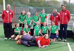 U12 girls Midlands final 2019