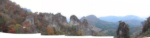 見晴台から大砲岩付近パノラマw.jpg