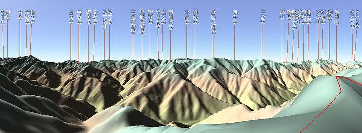 20120802_燕岳展望3Dパノラマ.jpg