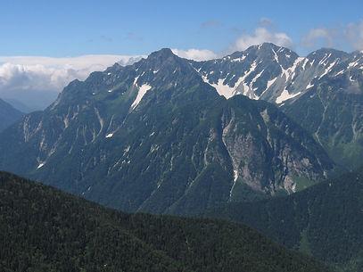 蝶ヶ岳から穂高.jpg
