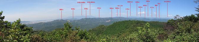 行道山_見晴らし台からのパノラマ_TW.jpg