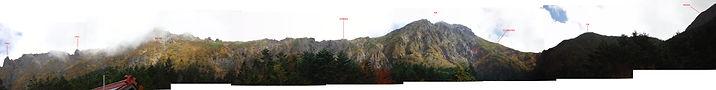 八ヶ岳行者小屋からのパノラ.jpg