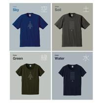 日本野鳥の会 Tシャツデザイン