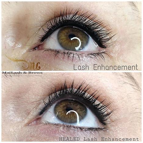 Healed Lash Enhancement_🌟 Lash Enhancem
