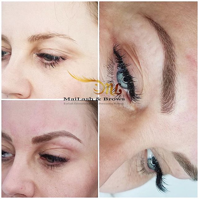 Don't you love ❤️ these brows_ A total natural enhancement, giving her back fuller brows.jpg