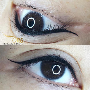 Combo lash liner + thin eyeliner