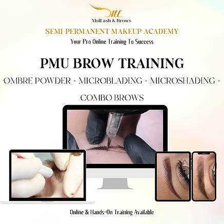 PMU Brow Training (Ombre Powder - Microblading - Microshading - Combo Brows)