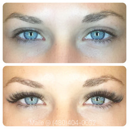 Volume 3d lashes