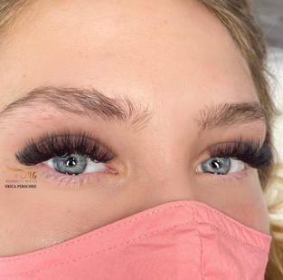 fluffy volume long lashes
