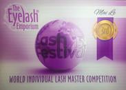 2015 World Individual Lash Master