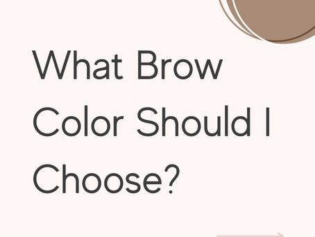 Suitable Microblading / Powder Brow Color