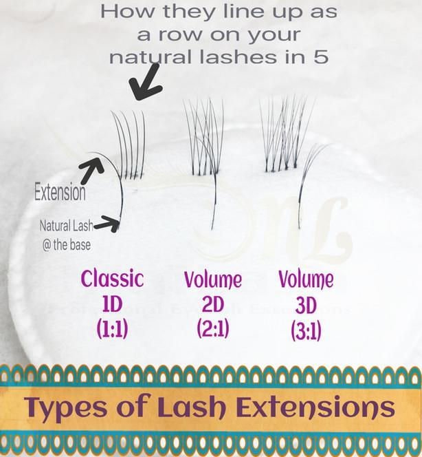 Classic vs. Volume Lash Extensions