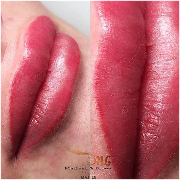 Oh how I love these lips 👄. Semi-perman