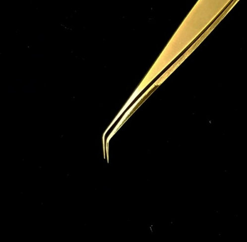 Needle Long Tweezer | Gold Series