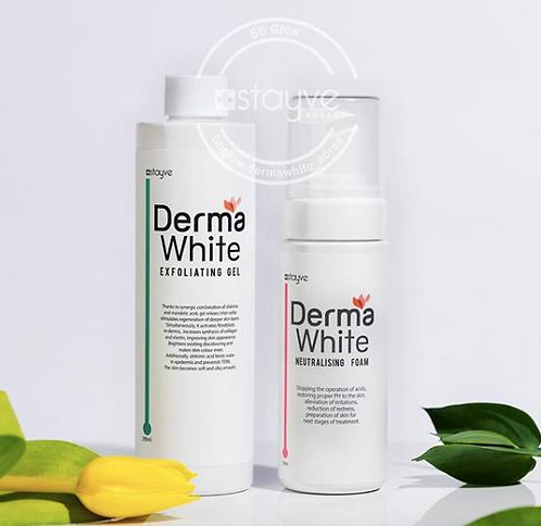 Derma White Exfoliating Gel & Neutralising Foam (Set)