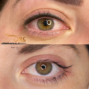 Combo lash line + thick eyeliner (additional charge may applied on thicker line)