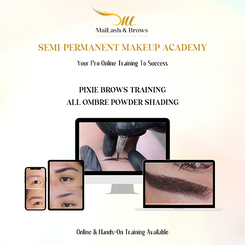 Pixie Brows - All Powder Shading Training