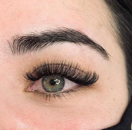 curly volume lashes