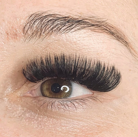 cat eye curly volume lashes