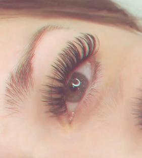 wispy hybrid long lashes thr