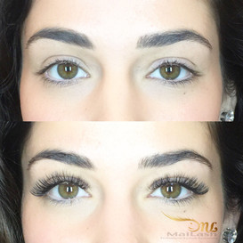Russian Volume lashes. Miss Arizona desired to achieve a high arch as natural look as possible.