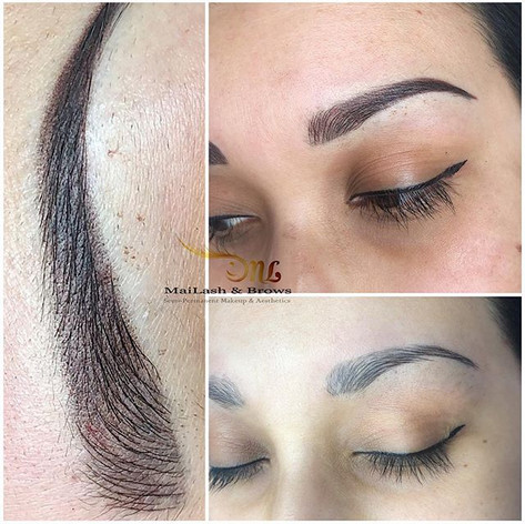 Covering previous Microblading work done